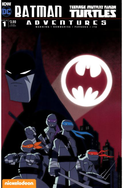 Batman TMNT Adventures #1 Subscription Cover A [IDW Comic]