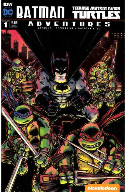 Batman TMNT Adventures #1 Subscription Cover B [IDW Comic]