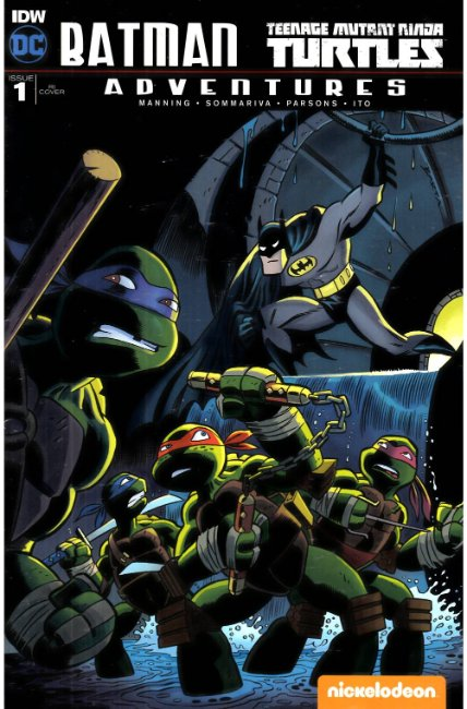 Batman TMNT Adventures #1 Cover RIA [IDW Comic]