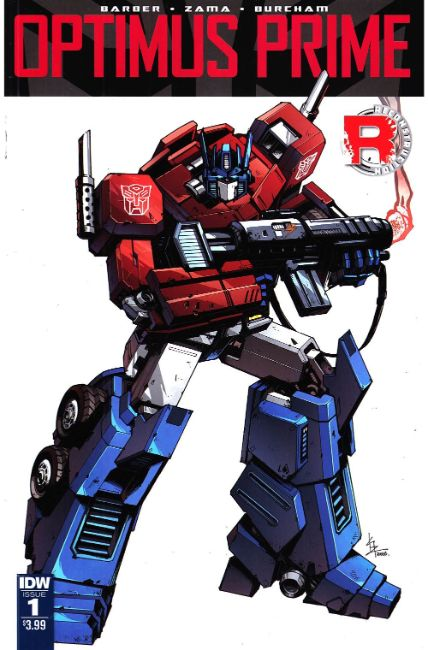 Optimus Prime #1 [IDW Comic] LARGE