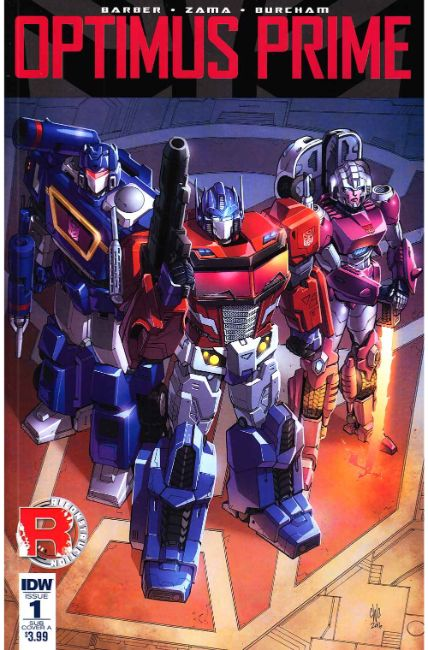 Optimus Prime #1 Subscription Cover A [IDW Comic] THUMBNAIL