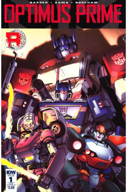 Optimus Prime #1 Subscription Cover B [IDW Comic]