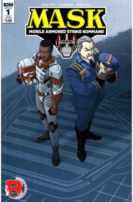 MASK Mobile Armored Strike Kommand #1 Subscription Cover A [IDW Comic]