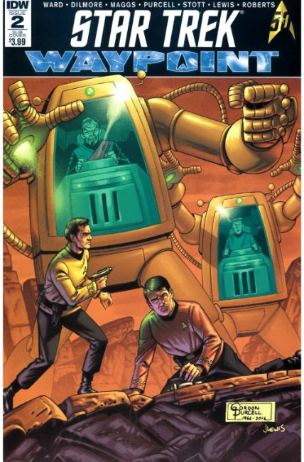 Star Trek Waypoint #2 Subscription Cover [IDW Comic] THUMBNAIL