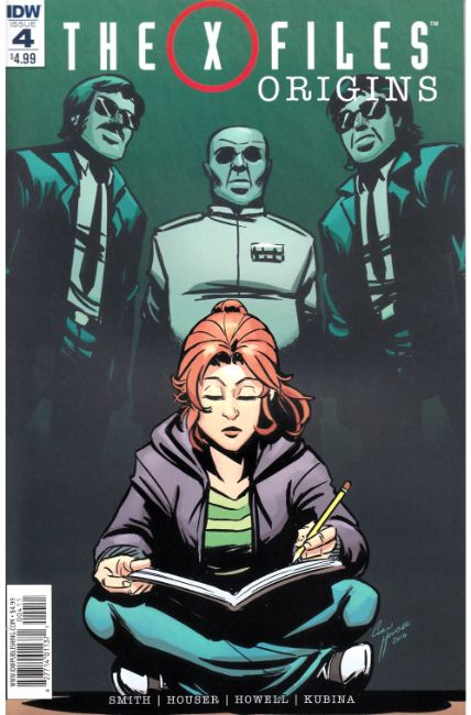 X-Files Origins #4 [IDW Comic] THUMBNAIL