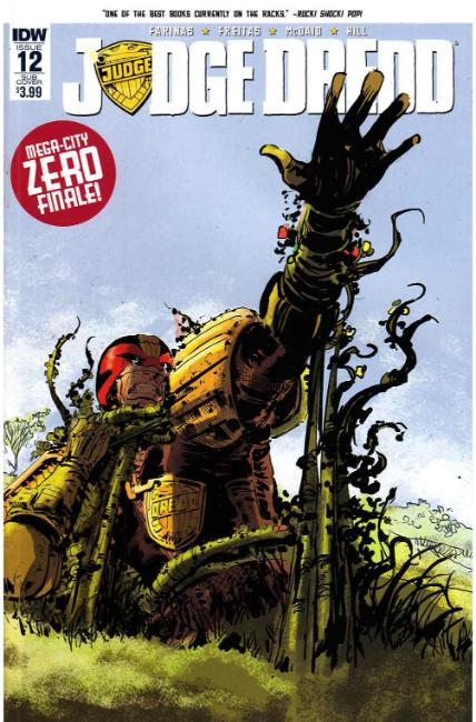 Judge Dredd (Ongoing) #12 Subscription Cover [IDW Comic] THUMBNAIL