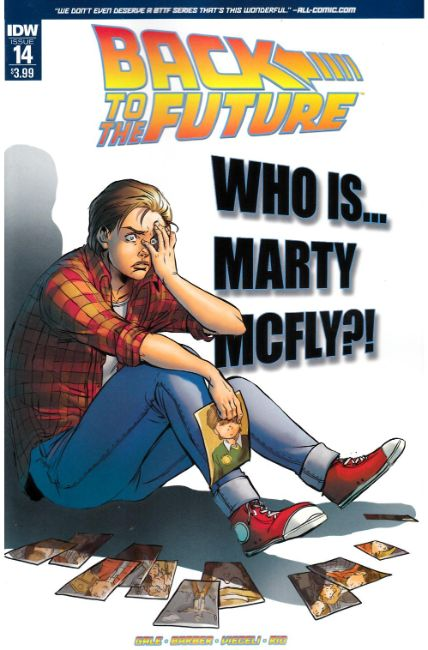 Back to the Future #14 [IDW Comic] THUMBNAIL