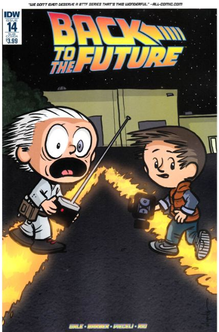 Back to the Future #14 Subscription Cover [IDW Comic] THUMBNAIL