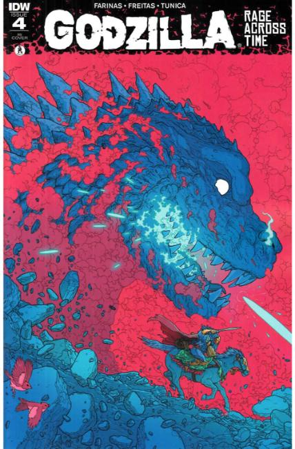 Godzilla Rage Across Time #4 Cover RI [IDW Comic] THUMBNAIL