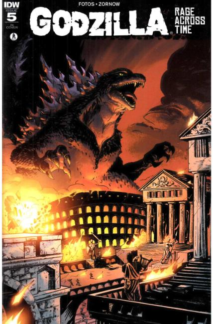 Godzilla Rage Across Time #5 Cover RI [IDW Comic] THUMBNAIL