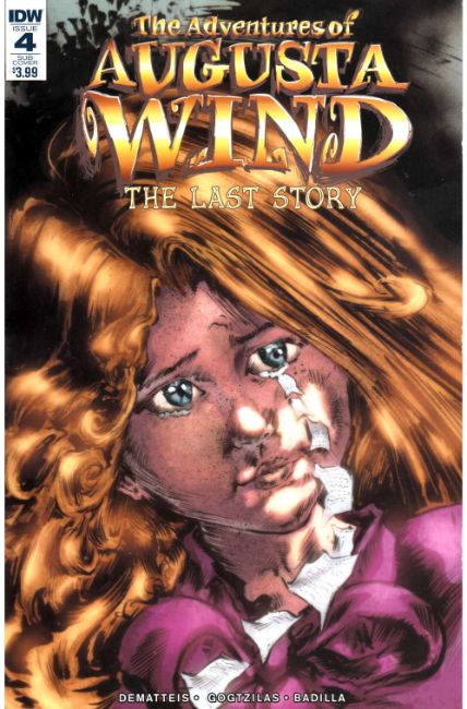 Adventures of Augusta Wind Last Story #4 Subscription Cover [IDW Comic] LARGE
