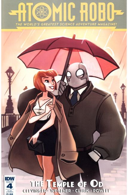 Atomic Robo and the Temple of Od #4 Subscription Cover [IDW Comic] THUMBNAIL