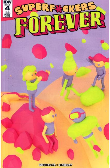 Super F*ckers Forever #4 Subscription Cover [IDW Comic] LARGE