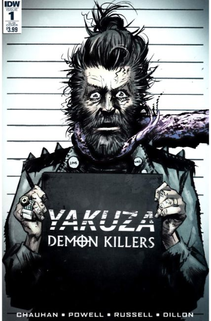 Yakuza Demon Killers #1 Subscription Cover [IDW Comic] LARGE