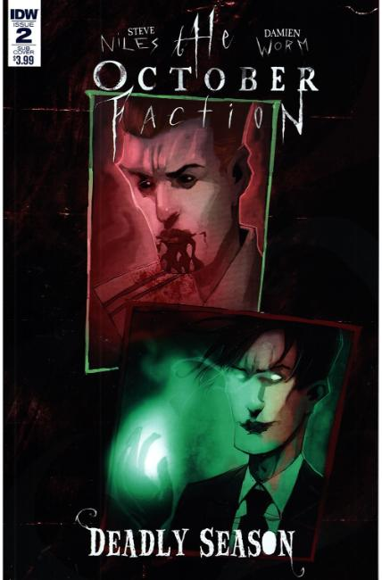 October Faction Deadly Season #2 Subscription Cover [IDW Comic] THUMBNAIL