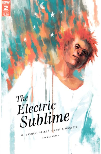 Electric Sublime #2 Subscription Cover [IDW Comic]