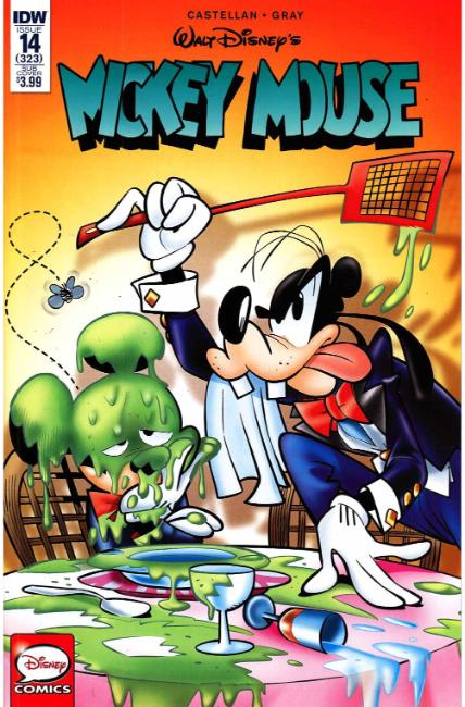 Mickey Mouse #14 Subscription Cover [IDW Comic] LARGE