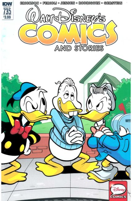 Walt Disney Comics & Stories #735 [IDW Comic] LARGE