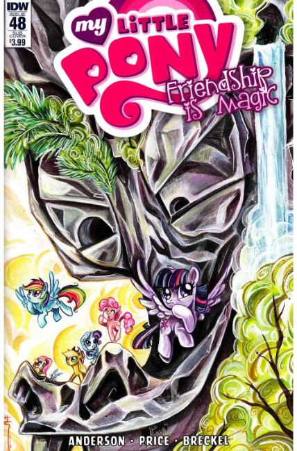 My Little Pony Friendship Is Magic #48 Subscription Cover [IDW Comic] THUMBNAIL