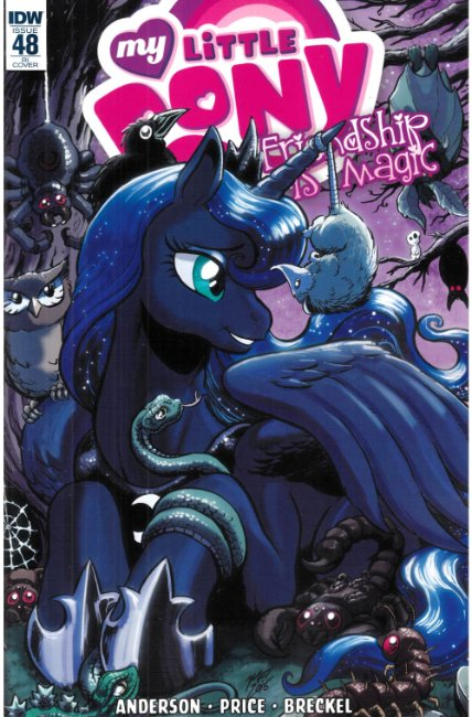 My Little Pony Friendship Is Magic #48 Cover RI [IDW Comic] THUMBNAIL