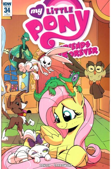 My Little Pony Friends Forever #34 Cover RI [IDW Comic] LARGE