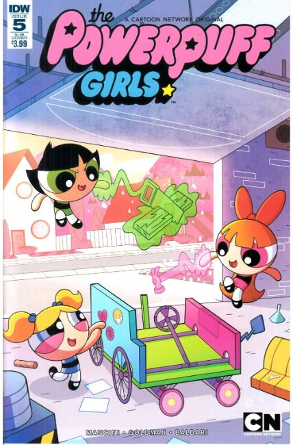 Powerpuff Girls (2016) #5 Subscription Cover [IDW Comic] THUMBNAIL