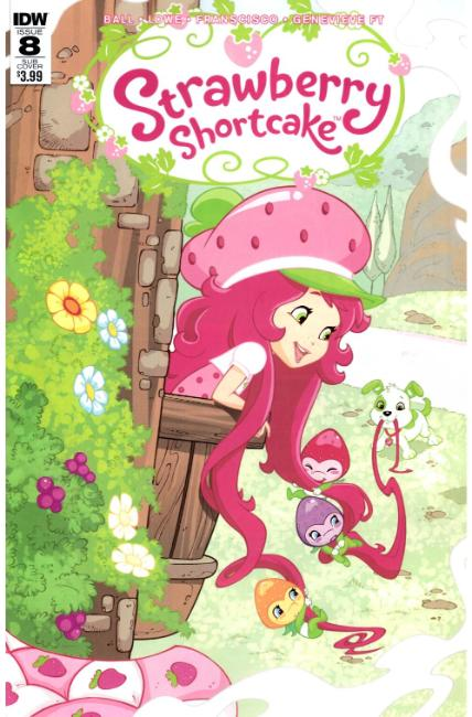 Strawberry Shortcake #8 Subscription Cover B [IDW Comic] THUMBNAIL
