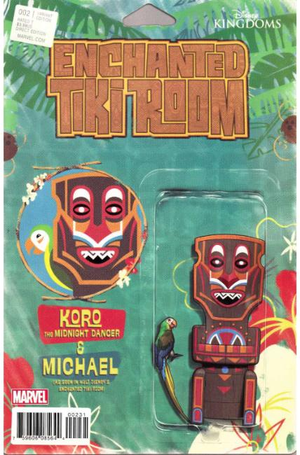 Enchanted Tiki Room #2 Christopher Action Figure Variant Cover [Marvel Comic] THUMBNAIL