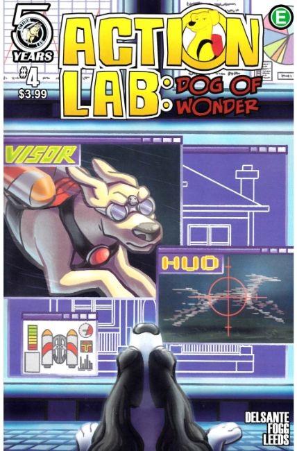 Action Lab Dog of Wonder #4 Cover A [Action Lab Comic] THUMBNAIL
