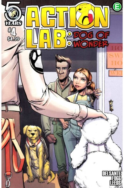 Action Lab Dog of Wonder #4 Cover B [Action Lab Comic] THUMBNAIL