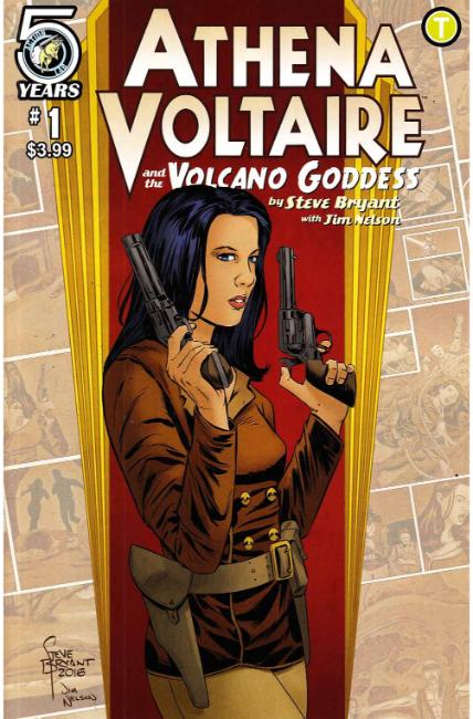 Athena Voltaire and the Volcano Goddess #1 Cover A [Action Lab Comic] THUMBNAIL
