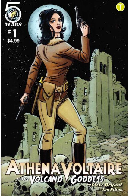 Athena Voltaire and the Volcano Goddess #1 Cover B [Action Lab Comic] THUMBNAIL