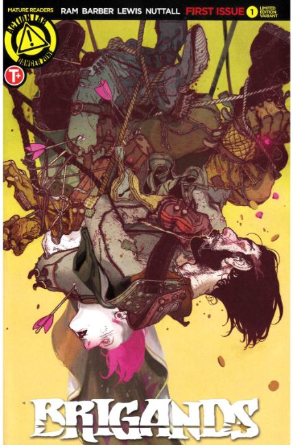 Brigands #1 Cover B [Danger Zone Comic] LARGE