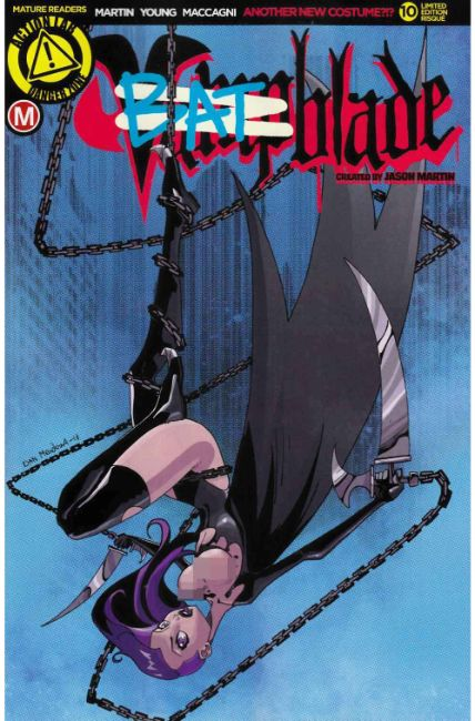 Vampblade #10 Cover D- Batblade Risque [Danger Zone Comic] THUMBNAIL