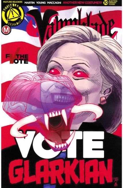 Vampblade #10 Cover E- Election [Danger Zone Comic] THUMBNAIL
