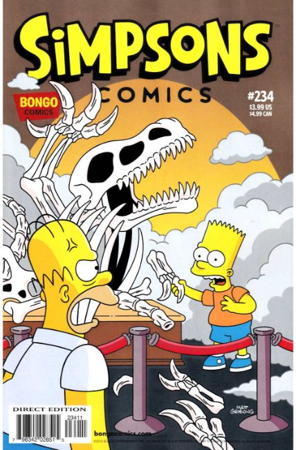 Simpsons Comics #234 [Bongo Comic] THUMBNAIL