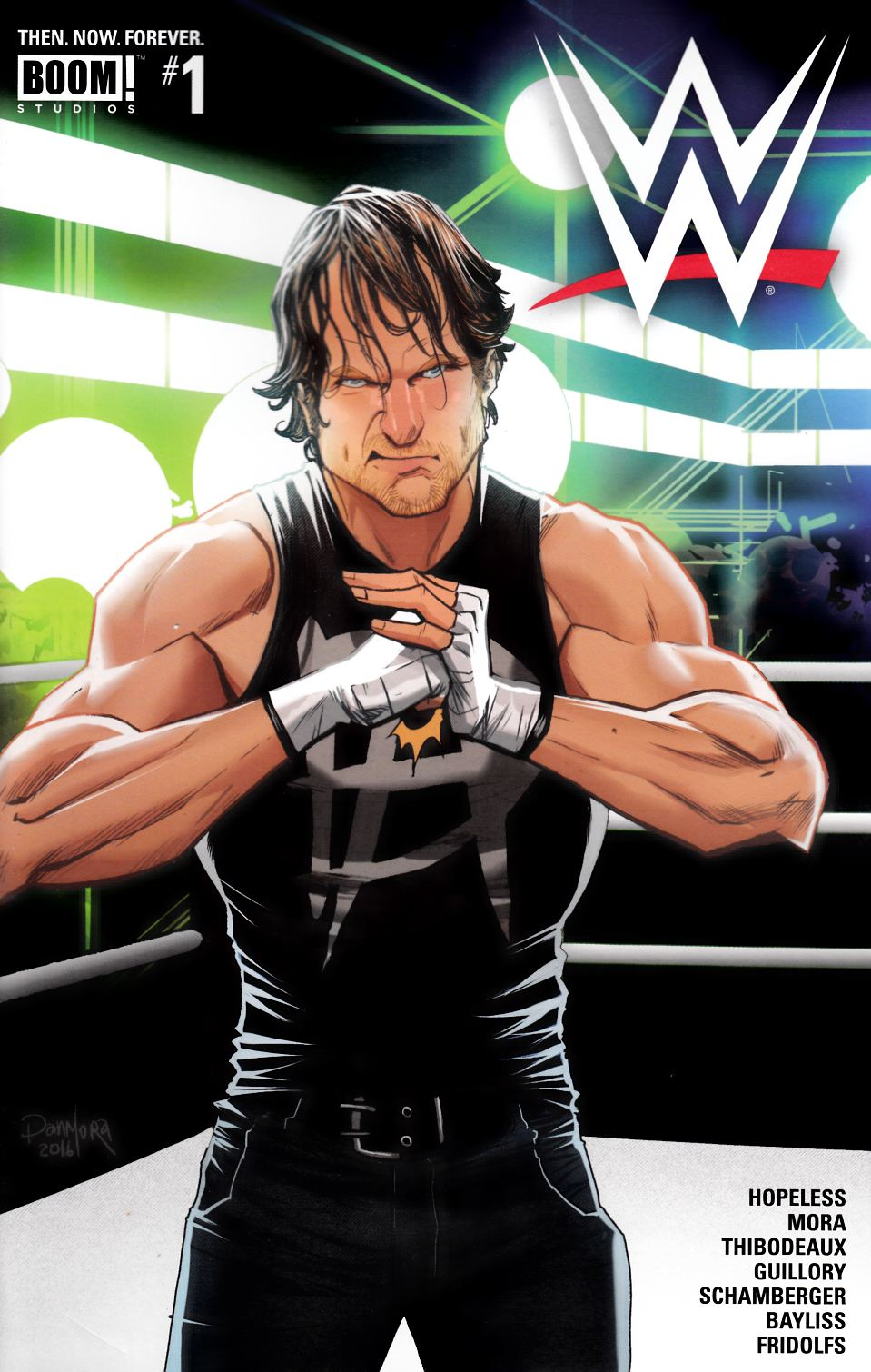 WWE Then Now Forever #1 Cover A [Boom Comic] THUMBNAIL