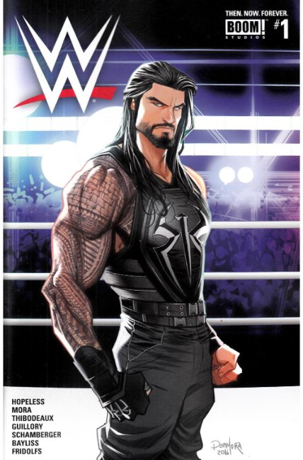 WWE Then Now Forever #1 Cover C [Boom Comic] THUMBNAIL