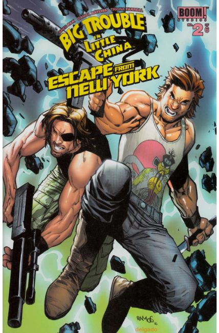 Big Trouble In Little China Escape From New York #2 Subscription Cover [Boom Comic] THUMBNAIL