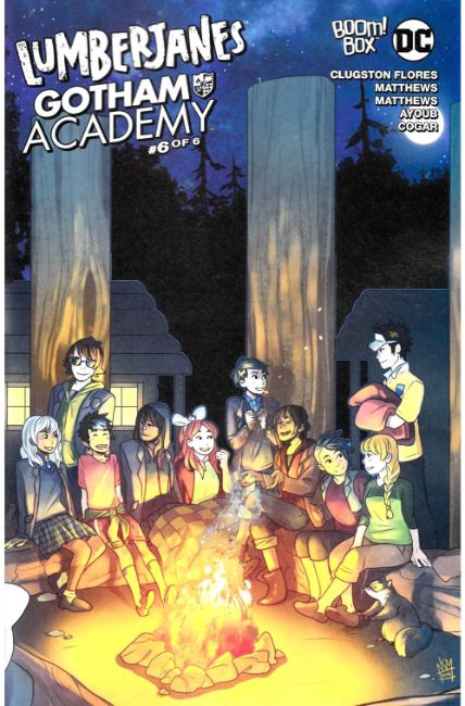 Lumberjanes Gotham Academy #6 Subscription Cover [Boom Comic] LARGE