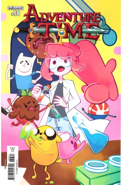 Adventure Time #58 Subscription Cover [Boom Comic] LARGE
