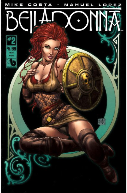 Belladonna #2 Shield Maiden Cover [Boundless Comic] THUMBNAIL