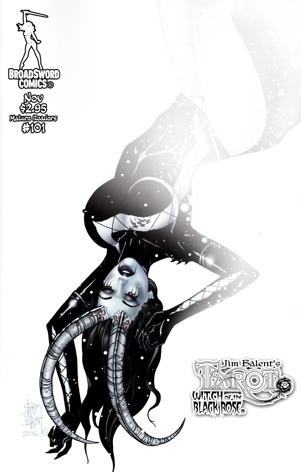 Tarot Witch of the Black Rose #101 Cover B [Broadsword Comic] THUMBNAIL