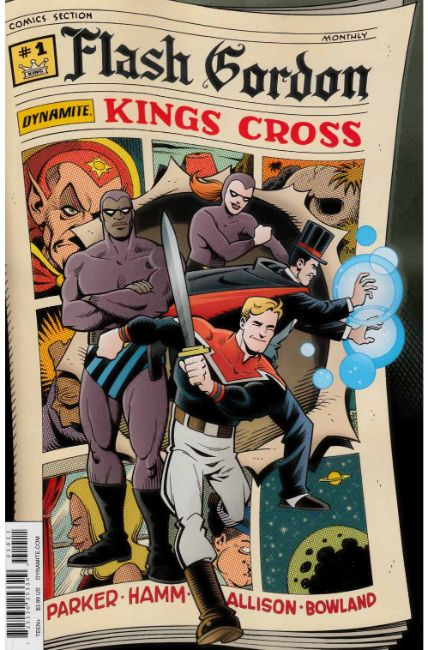 Flash Gordon Kings Cross #1 Cover A [Dynamite Comic]_THUMBNAIL