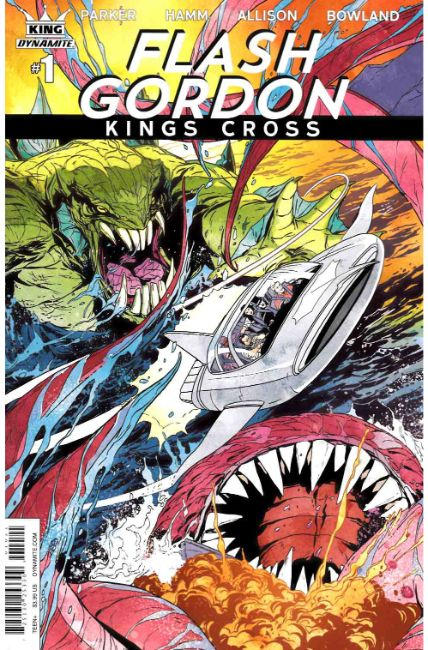 Flash Gordon Kings Cross #1 Cover B [Dynamite Comic]_THUMBNAIL
