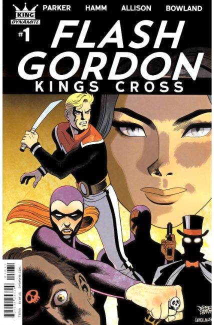 Flash Gordon Kings Cross #1 Cover C [Dynamite Comic]_THUMBNAIL