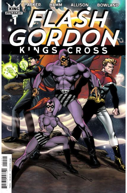 Flash Gordon Kings Cross #1 Cover D [Dynamite Comic]_THUMBNAIL