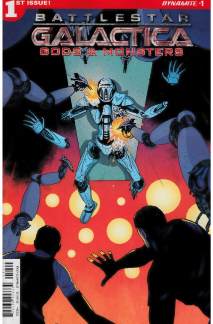 Battlestar Galactica Gods & Monsters #1 Cover A [Dynamite Comic] THUMBNAIL