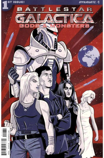 Battlestar Galactica Gods & Monsters #1 Cover C [Dynamite Comic] THUMBNAIL