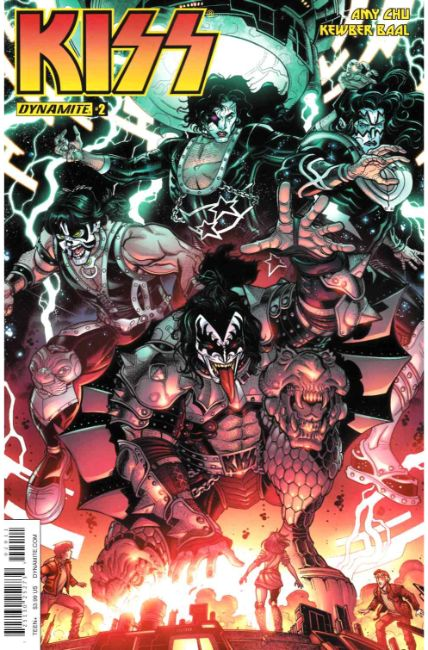 KISS #2 Cover A [Dynamite Comic] THUMBNAIL